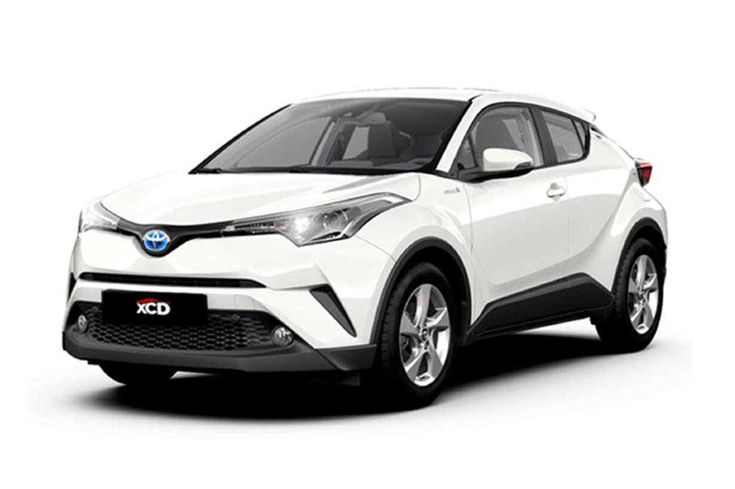Alquiler de coche Toyota C-HR Hybrid en Tarragona