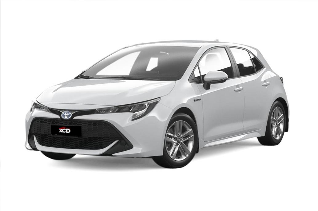 Alquiler de coche Toyota Corolla Hybrid en Tarragona