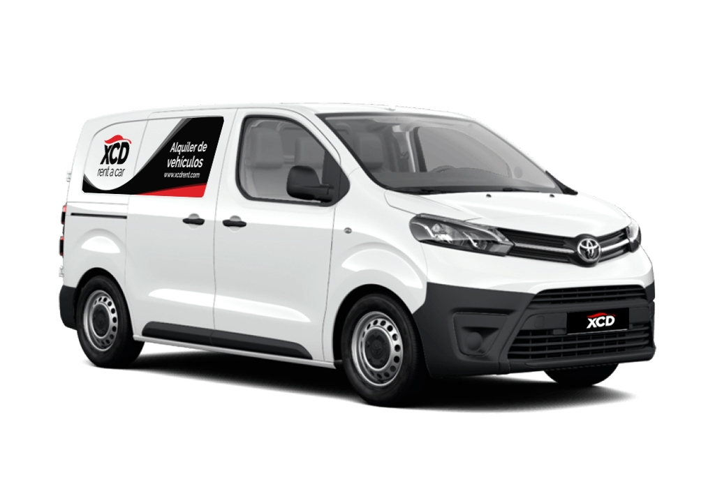 Alquiler de furgoneta Toyota Proace VAN en Tarragona