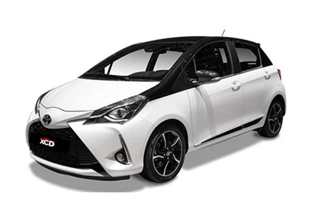 Alquiler de coche Toyota Yaris 110 en Tarragona