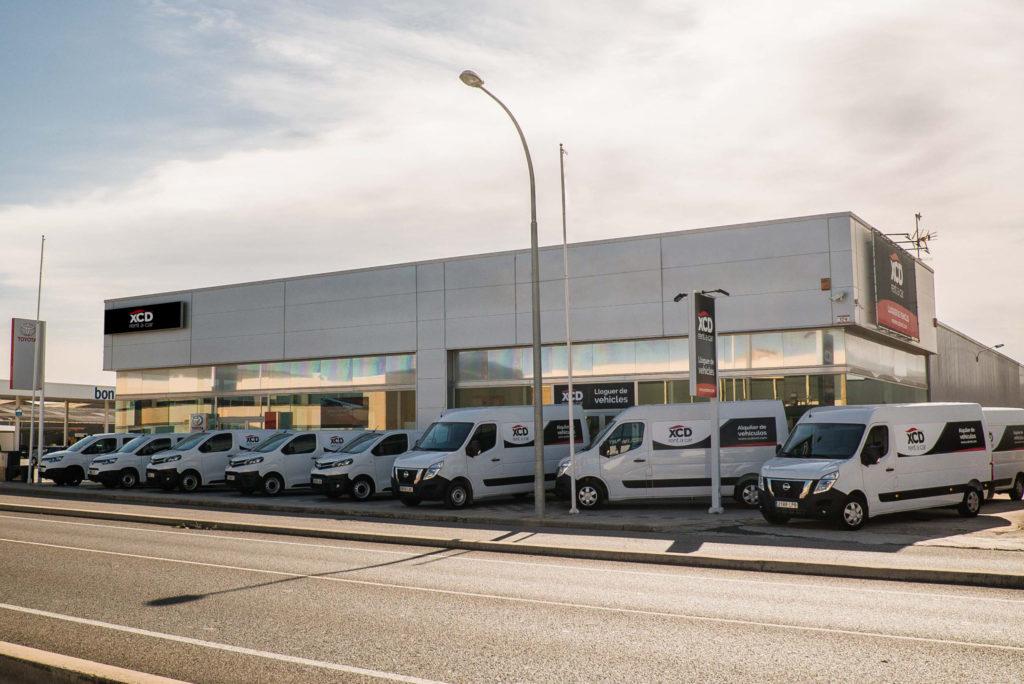 XCD alquiler de furgonetas